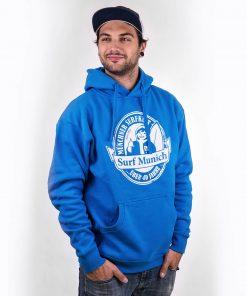 smucwear hoodie smuc surfmunich hoody hellblau