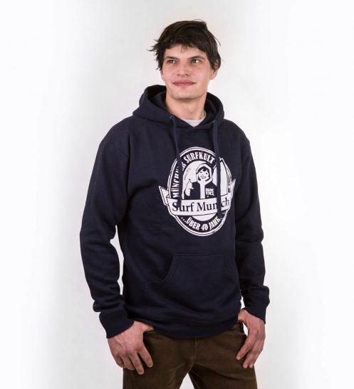 smucwear hoodie smuc surfmunich hoody marine