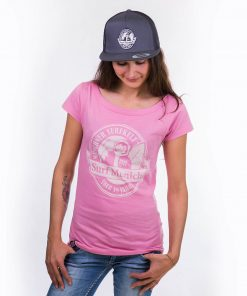 smucwear t shirt smuc surfmunich 1978 damen rose