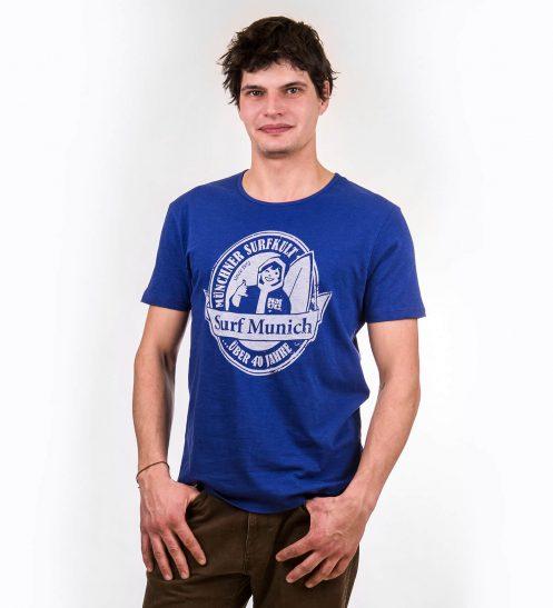 smucwear t shirt smuc surfmunich royalblau