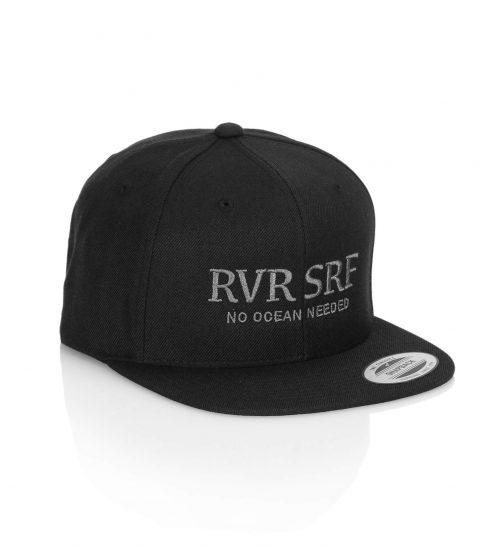 truckercap basecap surfmunich rvrsrf black front
