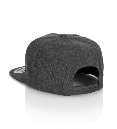 truckercap basecap surfmunich rvrsrf dunkelgrau back
