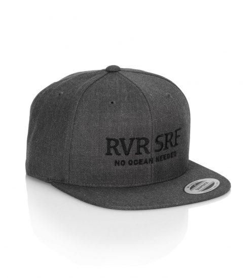 truckercap basecap surfmunich rvrsrf dunkelgrau front